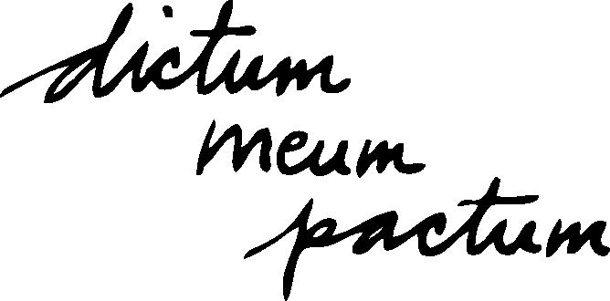 dictummeumpactum